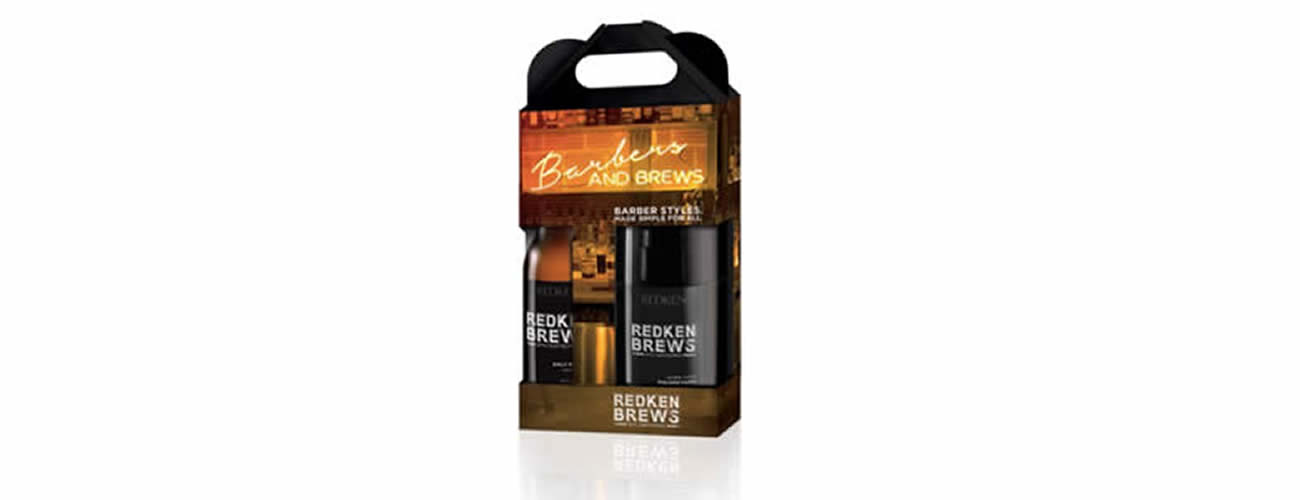 Redken Brews Christmas box